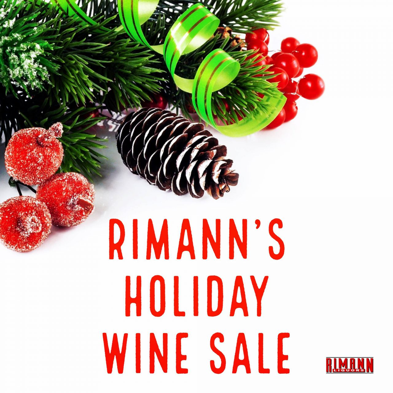 Holiday Wine Sale Going on Now!